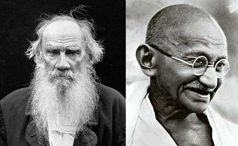 Mahatma Gandhi And Leo Tolstoy