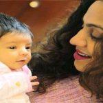 Manasi Parekh with her daughter