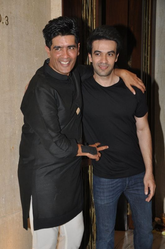 Manish Malhotra With His Nephew Punit Malhotra