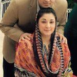 Maryam Nawaz with her son Junaid