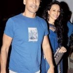 Milind Soman with Dipannita Sharma