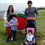 Misbah Ul Haq with his family