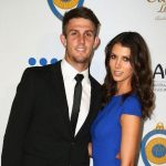 Mitchell Marsh with her partner Isabelle Platt