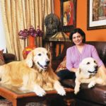 Nidhi Razdan With Her Dogs