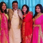 Pawni Pandey with her family