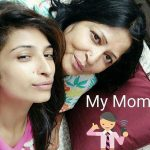 Priyanka Jagga with Her Mom