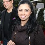 Rajat Sharma wife Ritu Dhawan