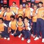 Rajesh Shringarpure In Celebrity Cricket League