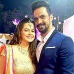 Rucha Gujarathi with her husband Vishal