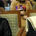 Rula Ghani and Ashraf Ghani