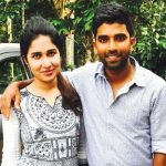 Sachin Baby with wife Anna Chandy