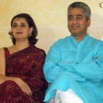 Sagarika with her Husband