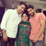 Sahil With His Mother & Brother