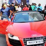 Saif Ali Khan Audi R8 Spyder