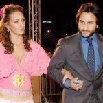 Saif Ali Khan with his Ex-girlfriend Rosa Catalano