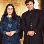 Saif Ali Khan With His Ex-Wife Amrita Singh