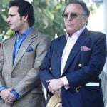 Saif Ali Khan With His Father