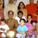 Sandeep Toshniwal with his family