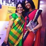 Shakthisree Gopalan with her mother