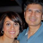 Shonali Sardesai with her Husband