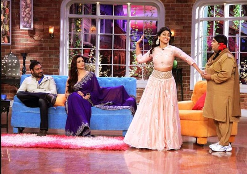 Shriya Saran in Comedy Nights With Kapil