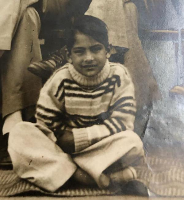 Sudhir Chaudhary in His Childhood