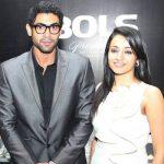 Rana Daggubati with Trisha Krishnan