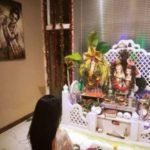 Vedhika Kumar, an ardent devotee of Lord Krishna