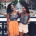 Vidya Vox with her sister Vandana Iyer
