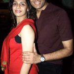 Vinay With His Wife