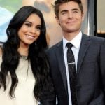 Zac with Vanessa