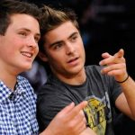 Zac with his Brother