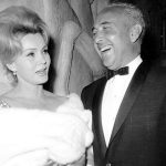 Zsa Zsa Gabor with fourth husband Herbert Hutner