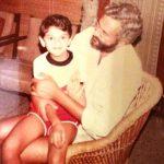 Aditi Rao Hydari with her father