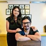 Amit Trivedi with his wife Krutee