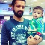 Atif Aslam With His Son Ahad