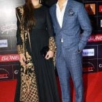 Sara Bharwana with her husband Atif Aslam