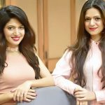 Charlie Chauhan with her sister Paul Chauhan