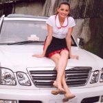 Dia Mirza Lexus LX SUV