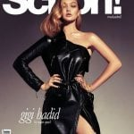 Gigi Hadid on the coverpage of Schon