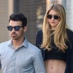 Gigi Hadid with Nick