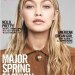 Gigi Hadid on the coverpage of Vogue