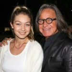 Gigi with her father Mohamed