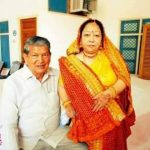 Harish Rawat with his Wife
