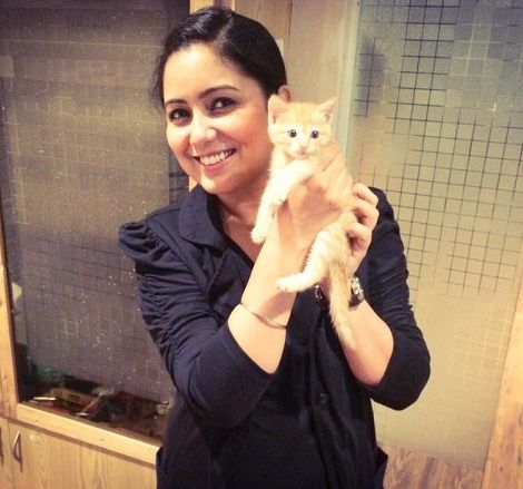 Harshdeep Kaur Loves Cats