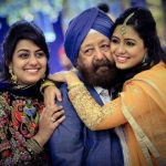 Harshdeep Kaur with her father and sister