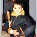 Ishan Kishan childhood pic