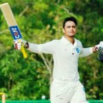 Ishan Kishan during a Ranji match