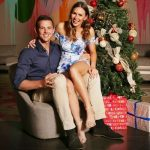 Josh Hazlewood with his girlfriend Cherina Murphy Christian
