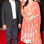 Juhi Chawla with her husband